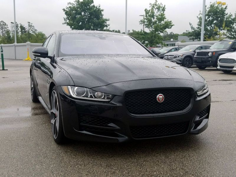 Black 2017 Jaguar XE R-Sport For Sale in San Antonio, TX