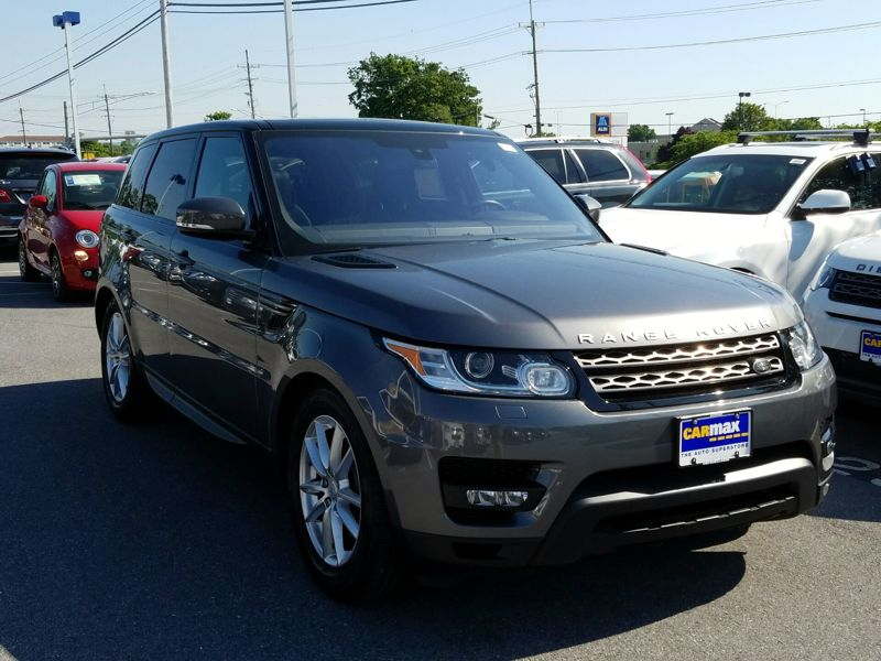 Gray 2016 Land Rover Range Rover Sport SE Diesel For Sale in Philadelphia, PA