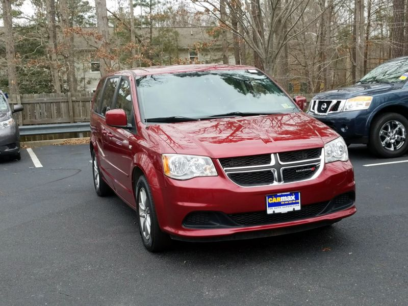 Red 2014 Dodge Grand Caravan SE For Sale in Dulles, VA