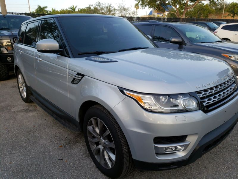 Silver 2015 Land Rover Range Rover Sport HSE For Sale in Norcross, GA