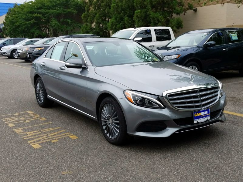 Silver 2015 Mercedes-Benz C300 For Sale in Brandywine, MD