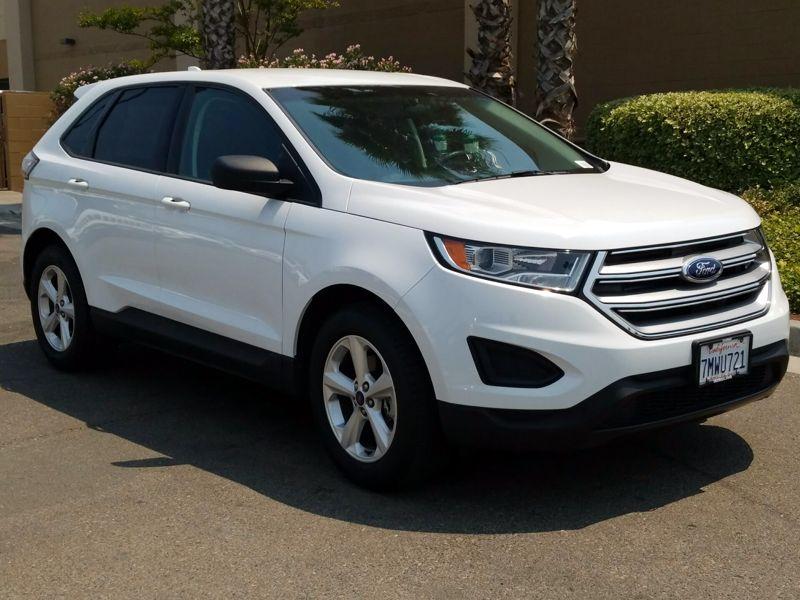 White 2015 Ford Edge SE For Sale in Roseville, CA