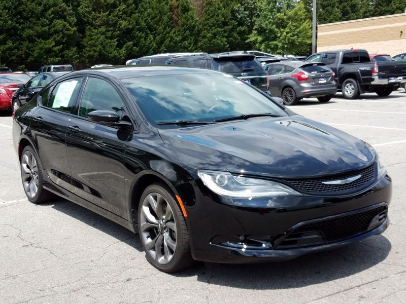 Black 2015 Chrysler 200 S For Sale in Atlanta, GA