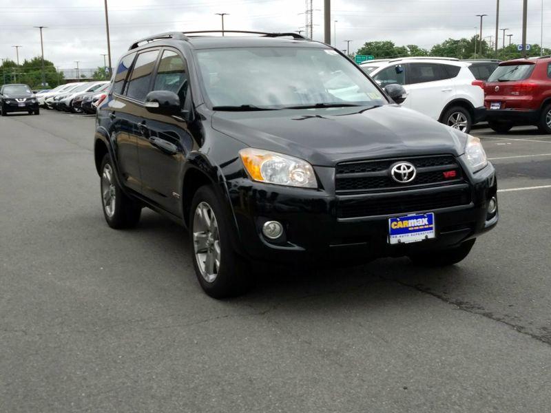 Black 2009 Toyota RAV4 Sport For Sale in White Marsh, MD