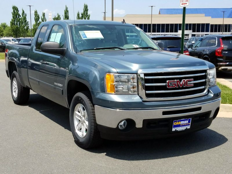 Gray 2013 GMC Sierra 1500 SLE For Sale in Dulles, VA
