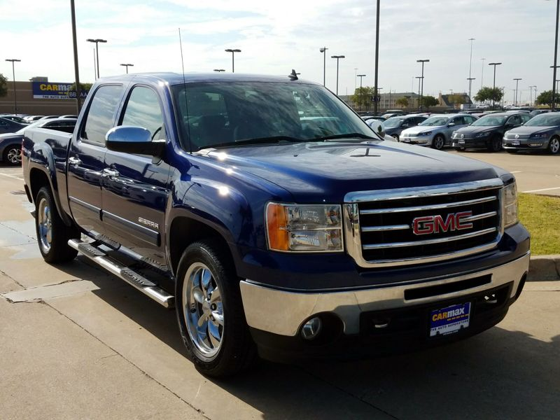 Blue 2013 GMC Sierra 1500 SLT For Sale in Oklahoma City, OK
