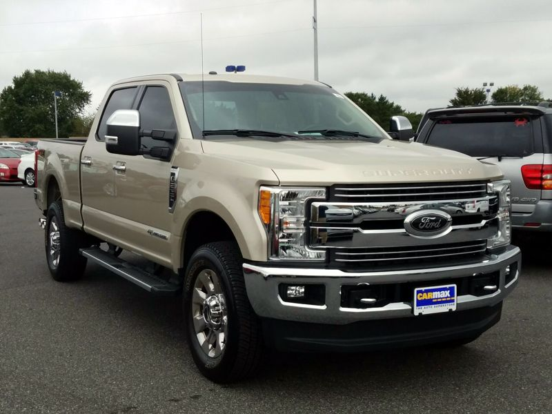 Gold 2017 Ford F250 Lariat For Sale in Newark, DE