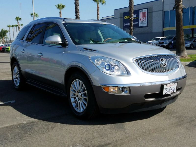 Silver 2012 Buick Enclave Leather For Sale in Los Angeles, CA