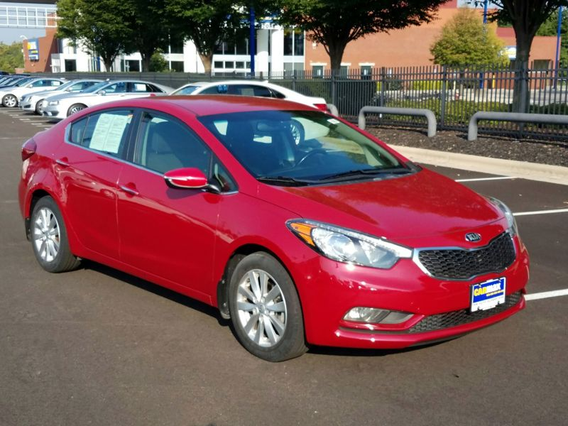 Red 2014 Kia Forte EX For Sale in Columbus, OH