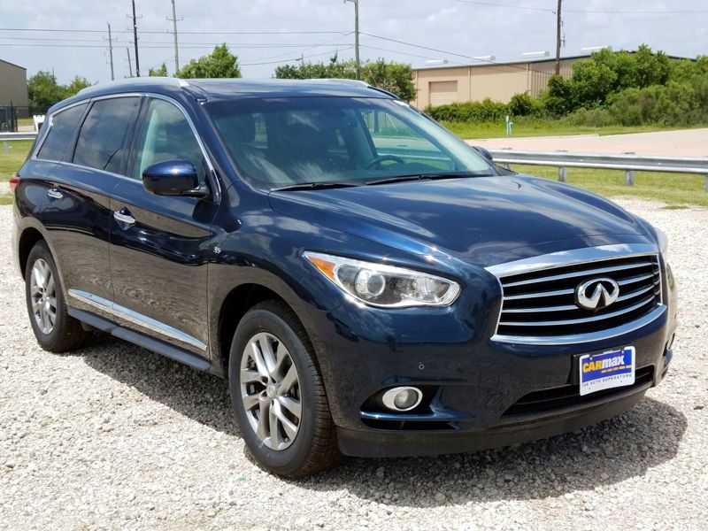 Blue 2015 Infiniti QX60 For Sale in Houston, TX