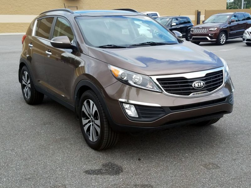 Brown 2013 Kia Sportage EX For Sale in Mobile, AL