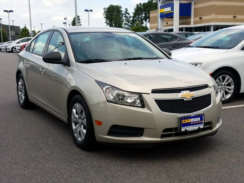 Gold 2014 Chevrolet Cruze LS For Sale in Raleigh, NC
