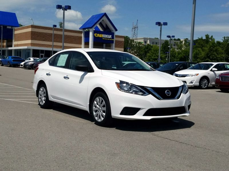 White 2017 Nissan Sentra S For Sale in Knoxville, TN