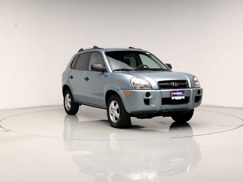 Blue 2008 Hyundai Tucson GLS For Sale in Chicago, IL