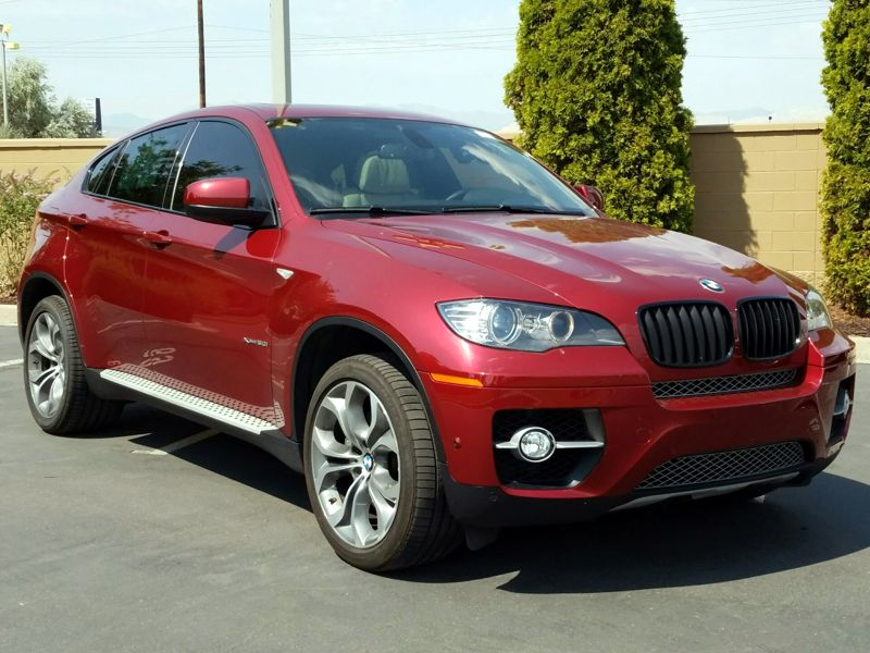 Red 2014 BMW X6 XDrive50i For Sale in Salt Lake City, UT