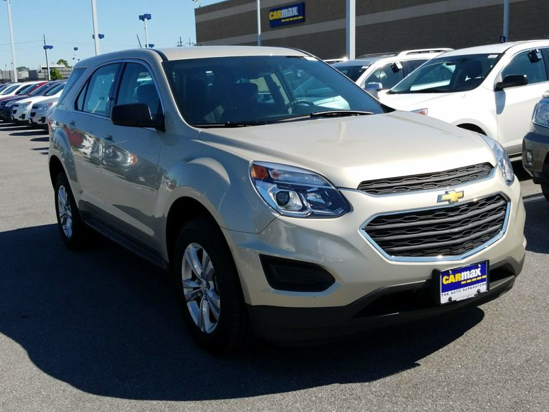 Gold 2016 Chevrolet Equinox LS For Sale in Gaithersburg, MD
