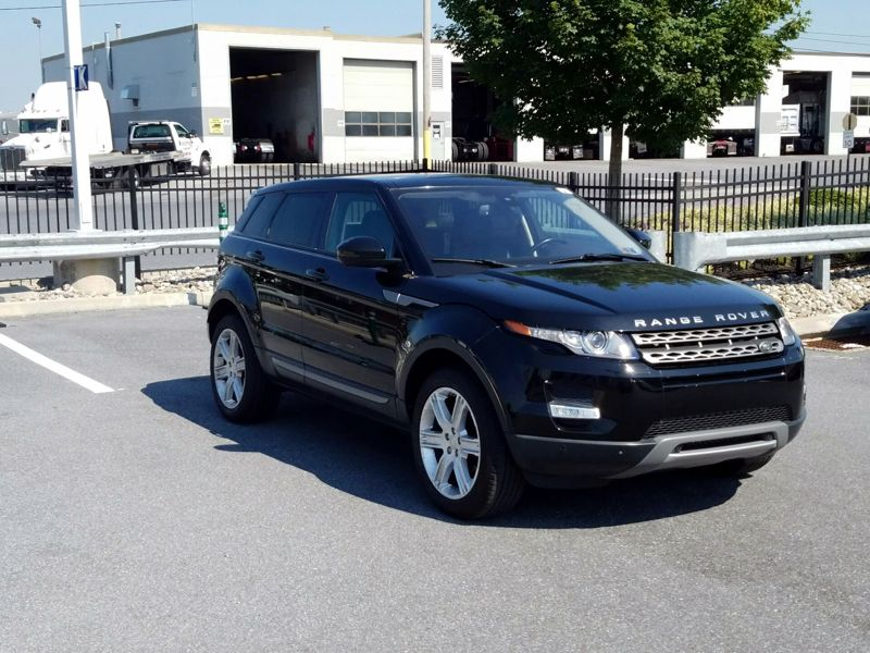 Black 2015 Land Rover Range Rover Evoque Pure Premium For Sale in Ellicott City, MD