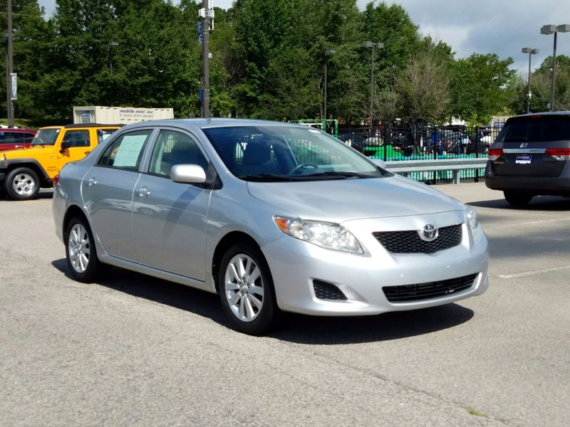 Silver 2010 Toyota Corolla LE For Sale in Greenville, NC