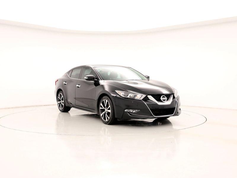 Black 2016 Nissan Maxima SV For Sale in Greenville, SC