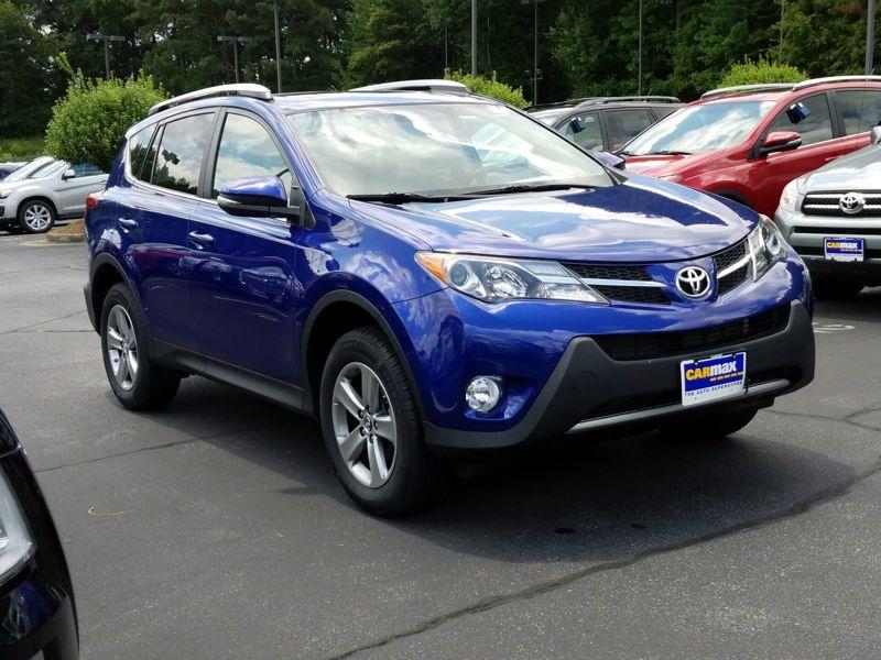 Blue 2015 Toyota RAV4 XLE For Sale in Birmingham, AL