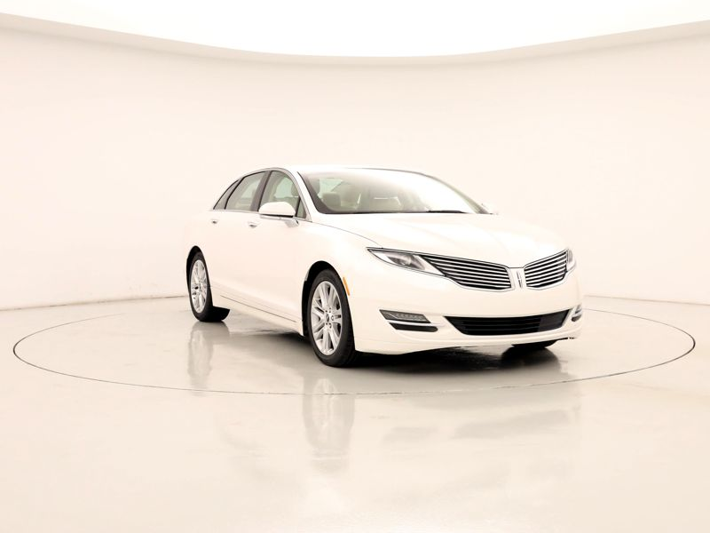 White 2015 Lincoln MKZ Hybrid For Sale in Town Center, GA