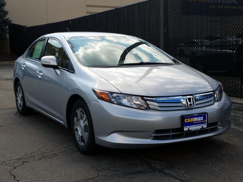 Silver 2012 Honda Civic Hybrid For Sale in Chicago, IL