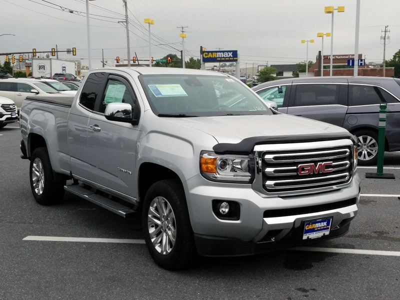 Silver 2015 GMC Canyon SLT For Sale in Philadelphia, PA