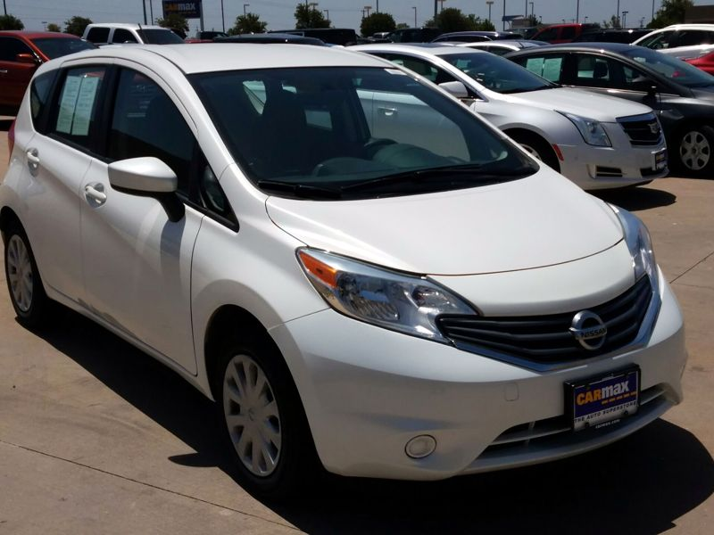 White 2015 Nissan Versa Note S For Sale in Tulsa, OK