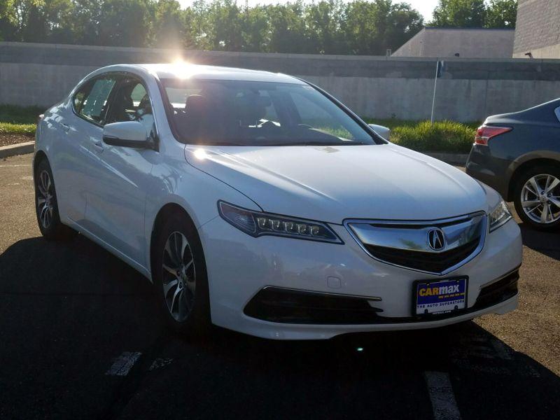 White 2015 Acura TLX For Sale in North Attleboro, MA