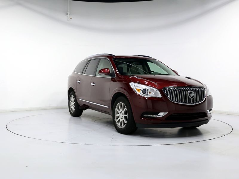 Red 2015 Buick Enclave Leather For Sale in White Marsh, MD