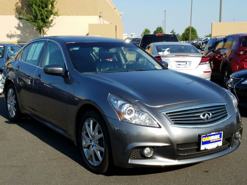 Silver 2011 Infiniti G37 X For Sale in Dulles, VA
