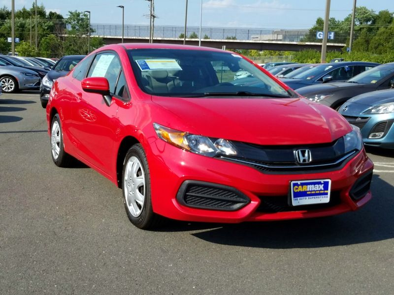 Red 2014 Honda Civic LX For Sale in Dulles, VA