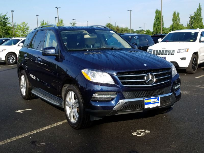 Blue 2015 Mercedes-Benz ML350 For Sale in Dulles, VA