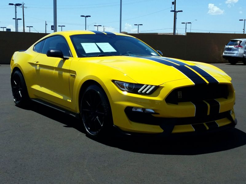 Yellow 2016 Ford Mustang Shelby GT350 For Sale in Las Vegas, NV