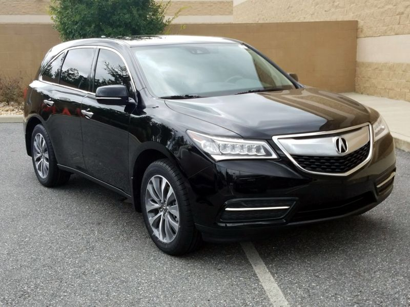 Black 2016 Acura MDX For Sale in Orlando, FL
