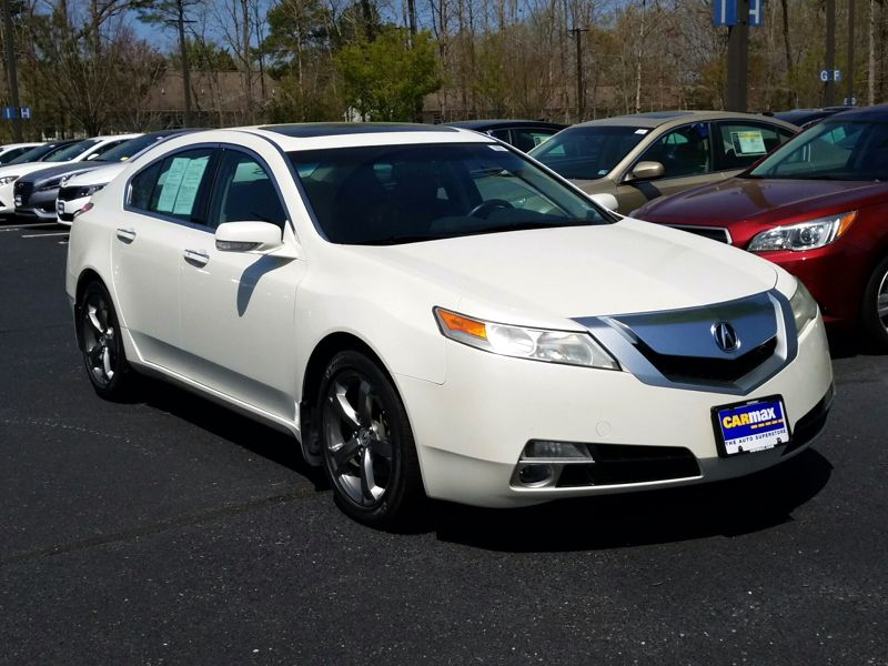 White 2011 Acura TL SH-AWD For Sale in Ft. Myers, FL