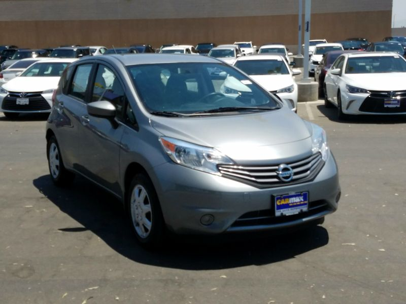 Gray 2015 Nissan Versa Note S For Sale in Bakersfield, CA