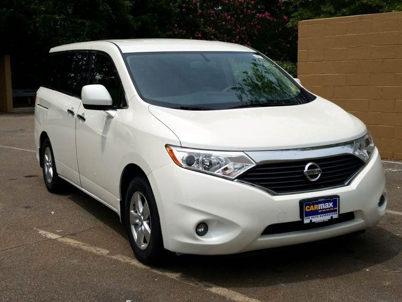 White 2013 Nissan Quest SV For Sale in Lexington, KY