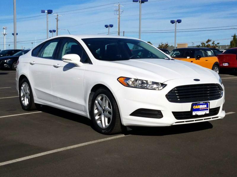 White 2016 Ford Fusion SE For Sale in Spokane, WA