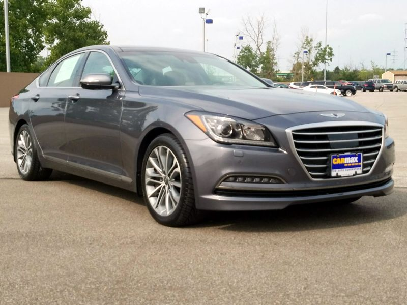 Gray 2017 Genesis G80 For Sale in Cleveland, OH