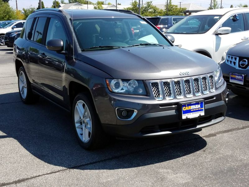 Gray 2015 Jeep Compass Limited For Sale in Indianapolis, IN
