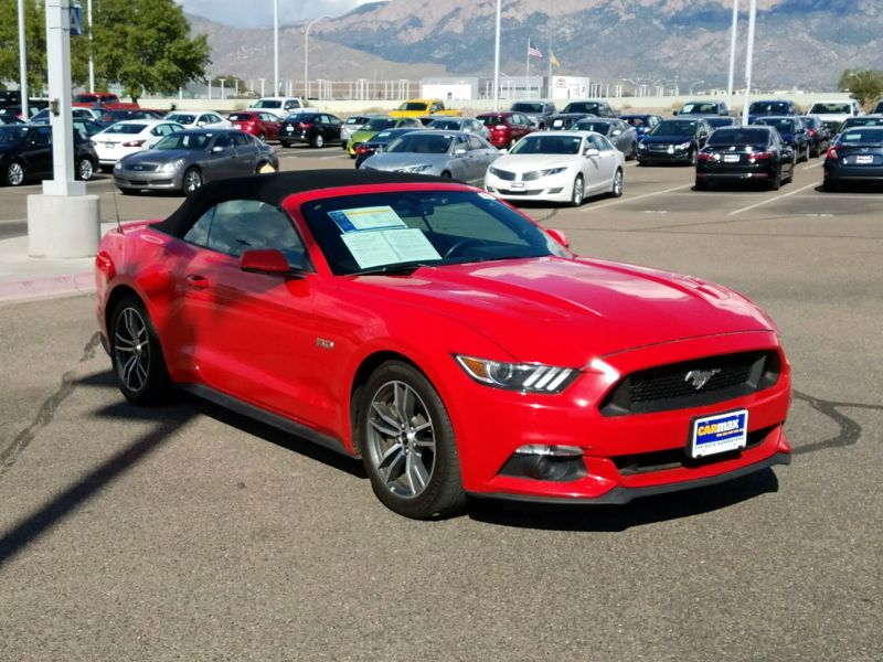 Red 2016 Ford Mustang GT For Sale in Albuquerque, NM