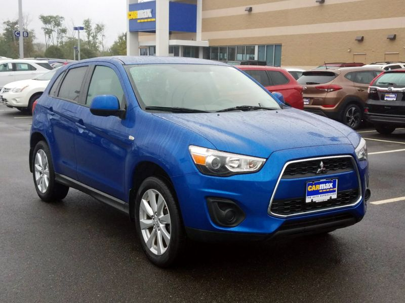 Blue 2015 Mitsubishi Outlander Sport ES For Sale in Boston, MA