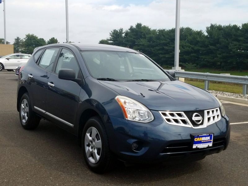Blue 2012 Nissan Rogue S For Sale in Laurel, MD
