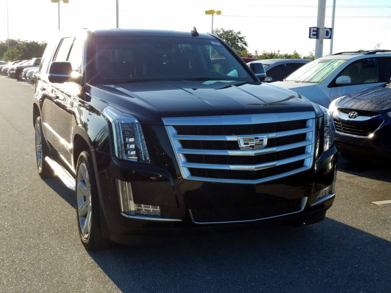 Black 2017 Cadillac Escalade Luxury For Sale in Naples, FL