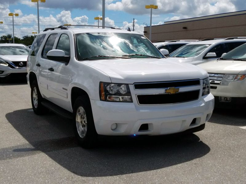 White 2014 Chevrolet Tahoe LS For Sale in Tallahassee, FL