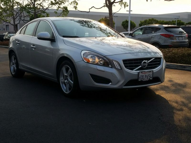 Silver 2012 Volvo S60 T5 For Sale in Costa Mesa, CA