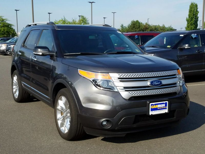 Gray 2015 Ford Explorer XLT For Sale in Dulles, VA