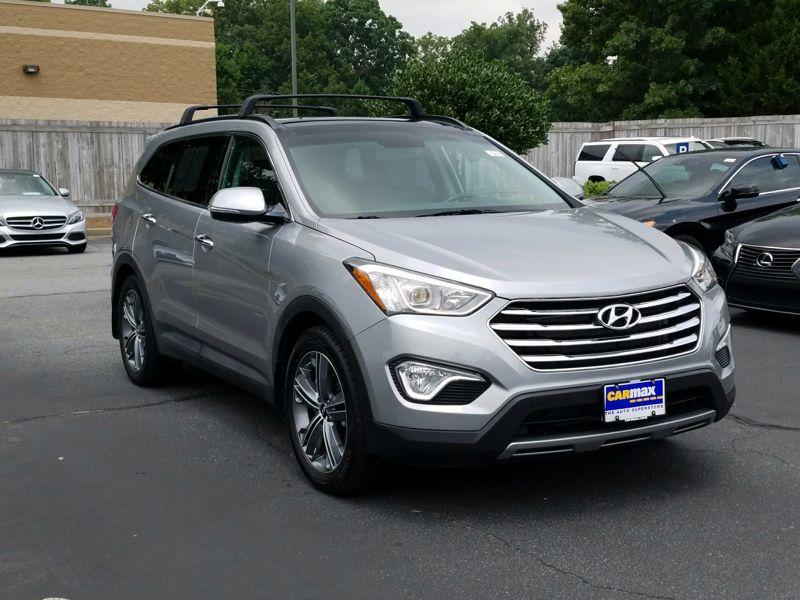 Gray 2015 Hyundai Santa Fe GLS For Sale in Town Center, GA