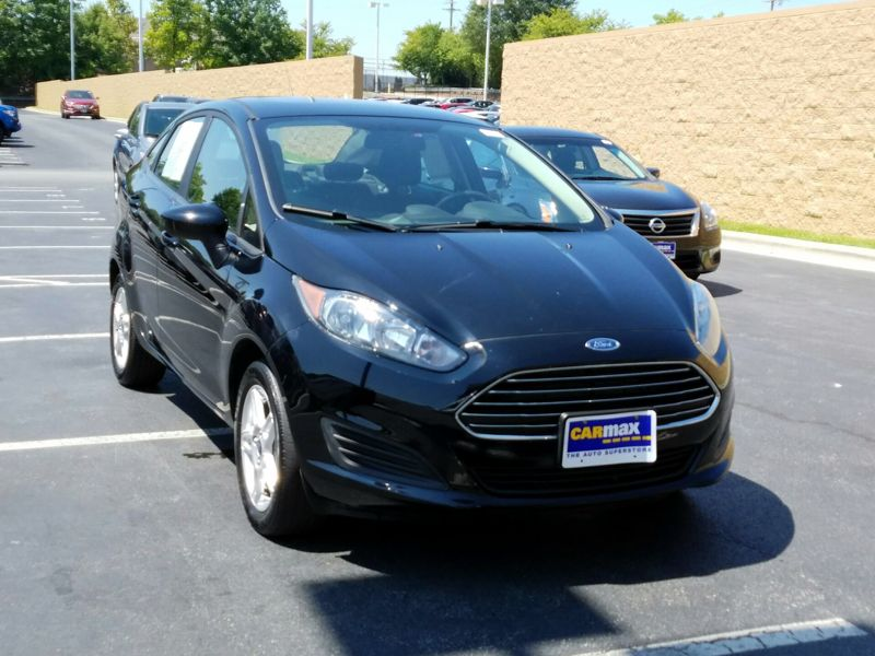 Black 2017 Ford Fiesta SE For Sale in Winston-Salem, NC